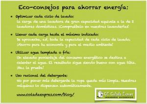 Eco-Consejos para ahorrar energía