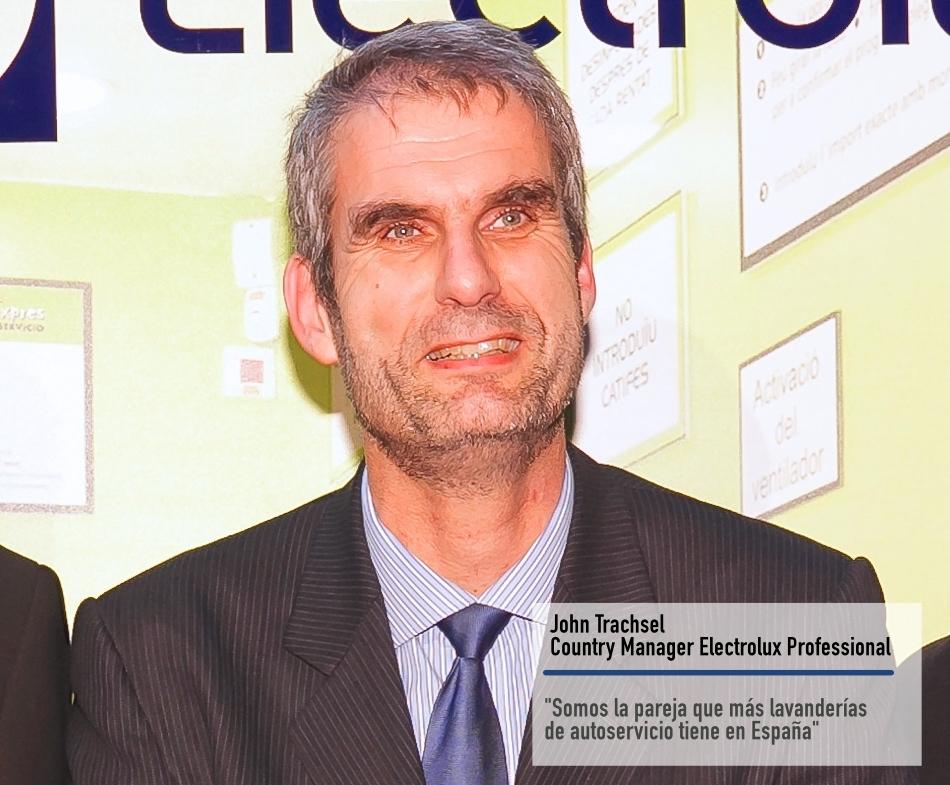 John Trachsel, Director de Electrolux Professional España