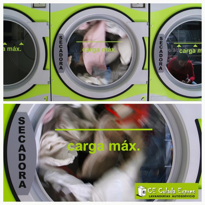 Las secadoras Electrolux de Colada Expres tienen hasta 16kg de capacidad.