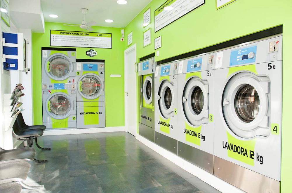 Lavandería de autoservicio Colada Expres